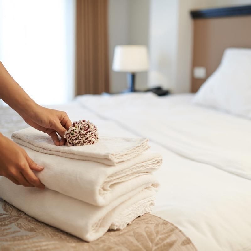 酒店纺织品租赁+洗涤服务